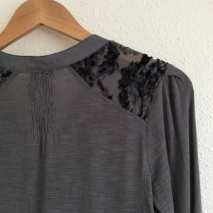 Anthropologie Tops - Tiny | Broadleaf Forest Velvet Button Down Top XS